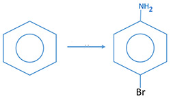 Organic chemistry conversions questions, examples