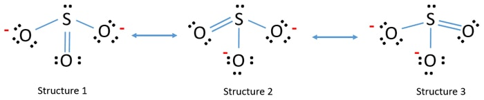 Lewis Structure For So32